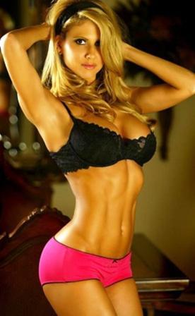 Marzia Prince fitness model